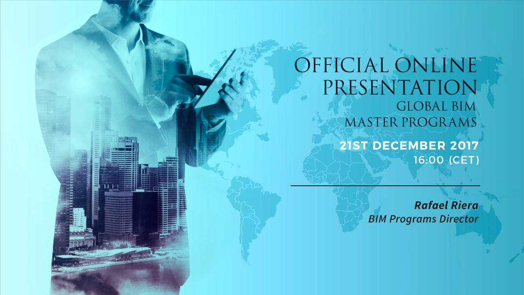 OPEN DAY] Official Online Presentation  Global BIM Masters Programs