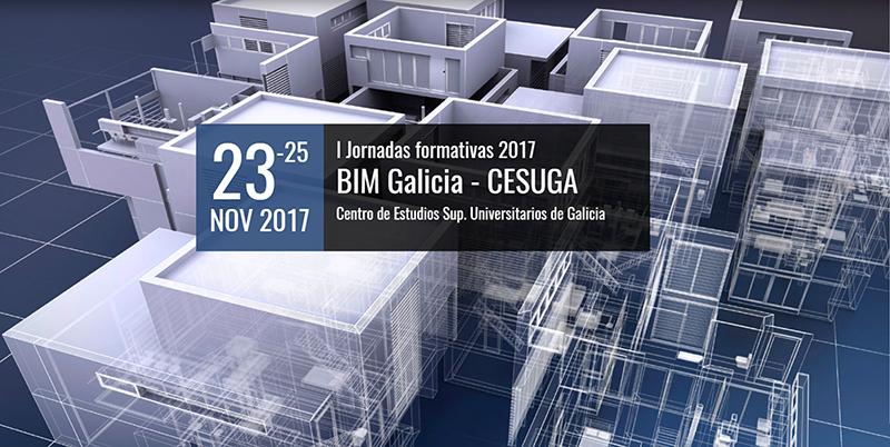 Primeras Jornadas formativas 2017 BIM Galicia
