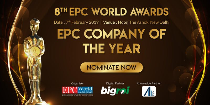 8th EPC World Industry Awards 2018 (Book your table) - With