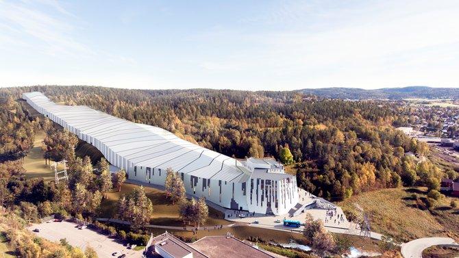 L 248 Renskog Norway S First Indoor Ski Resort In Oslo