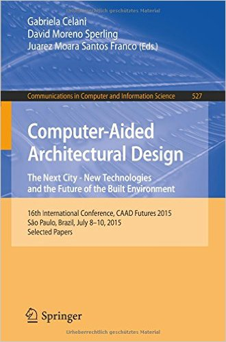 Computer-Aided Architectural Desing Futures