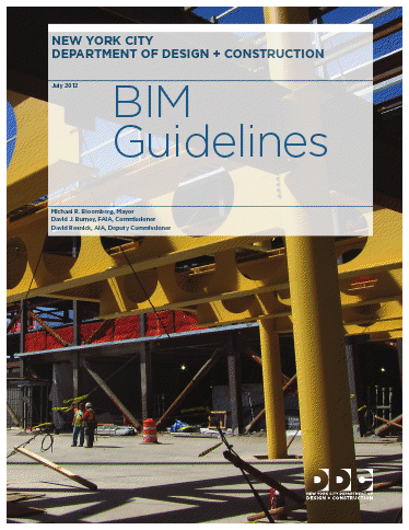 New York City Department of Design and Construction BIM Guidelines