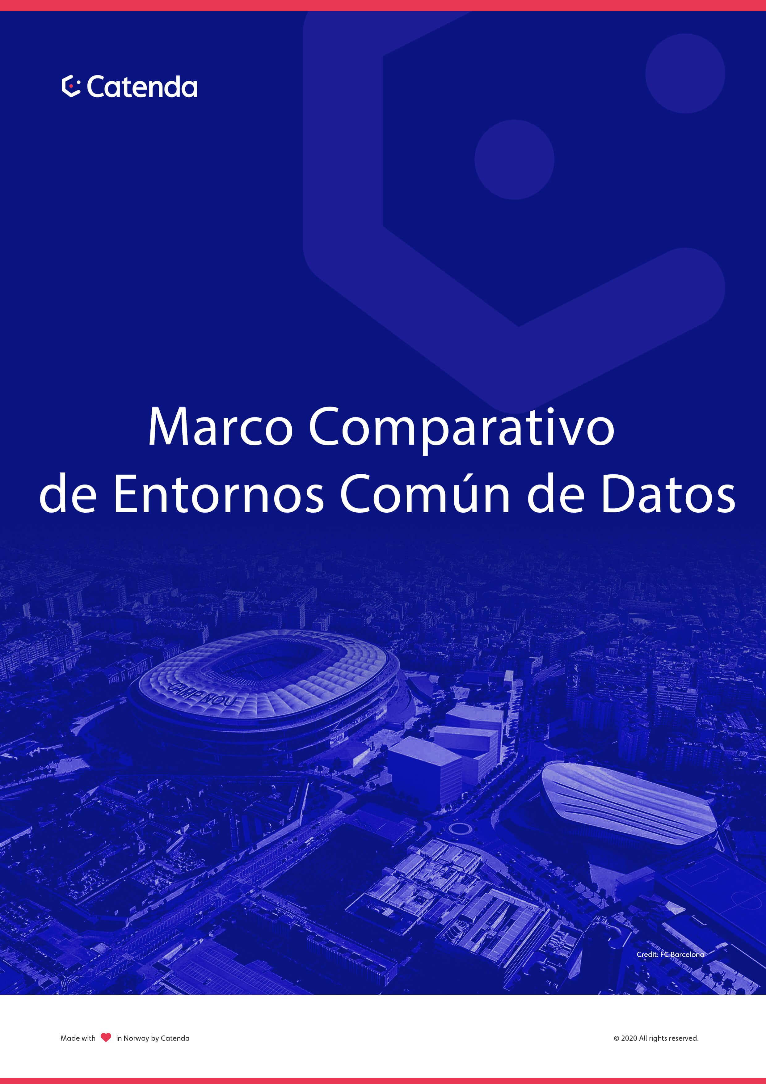 Marco Comparativo de Entornos Común de Datos