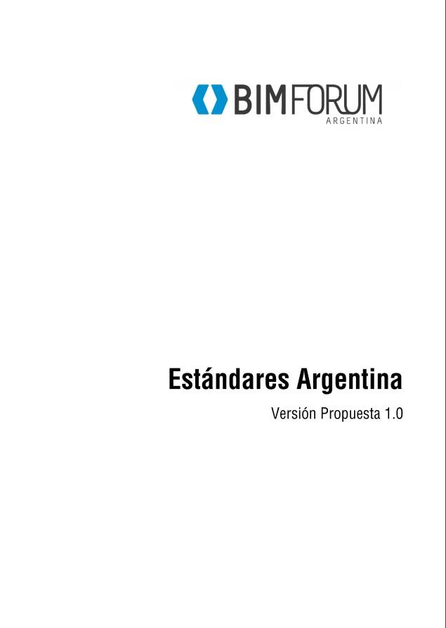 Primer estándar BIM Argentina
