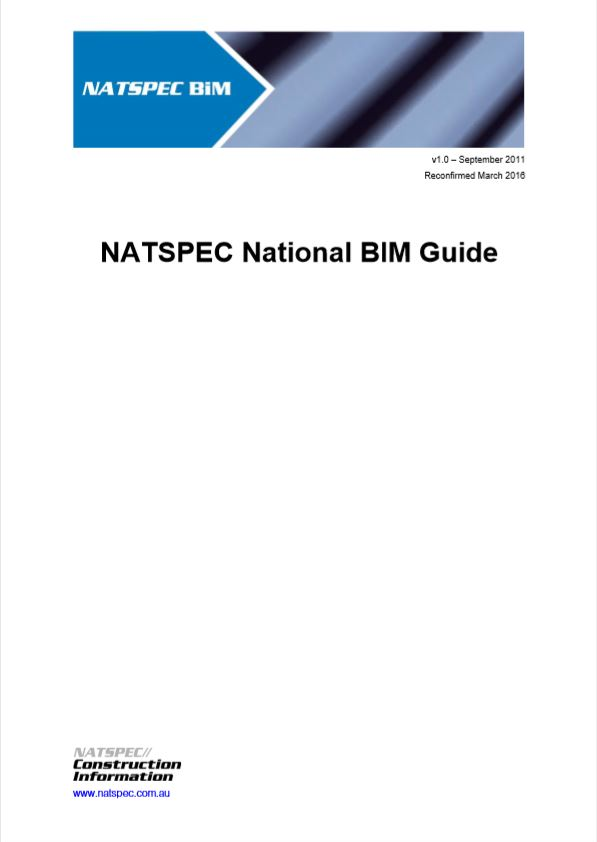 NATSPEC National BIM Guide