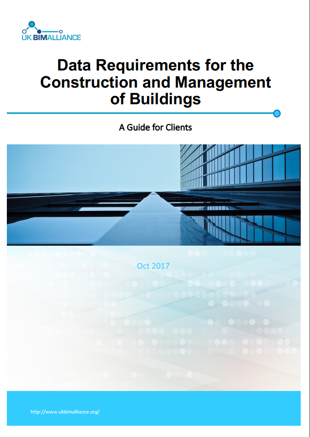 Data Requirements for the Construction and Management of Buildings