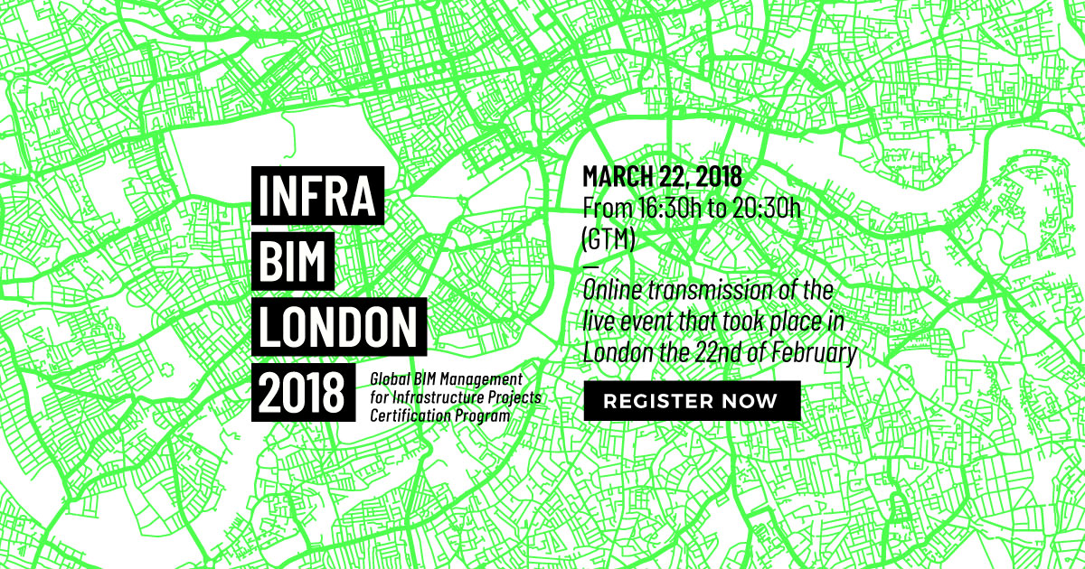 InfraBIM London 2018 to gather experts to discuss the state